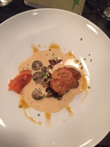Scallop in Lobster Sauce
